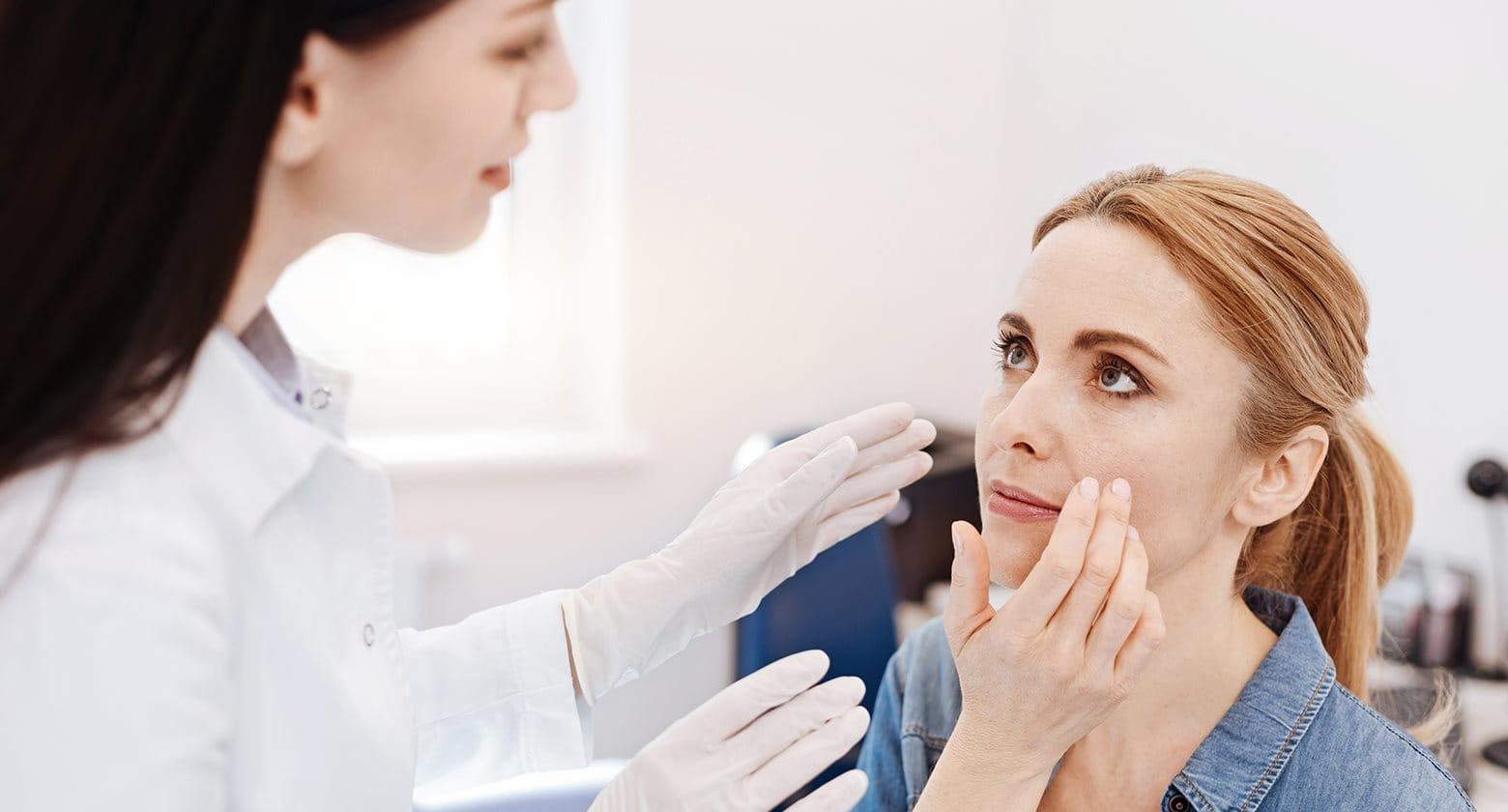 Frauen akne bei Hormonell bedingte