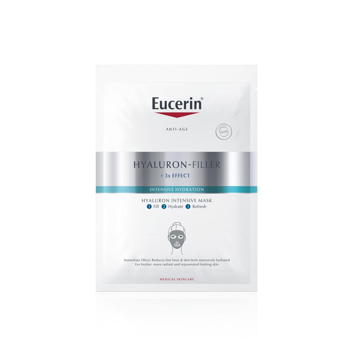 Eucerin Hyaluron-Filler Máscara de Ácido Hialurónico