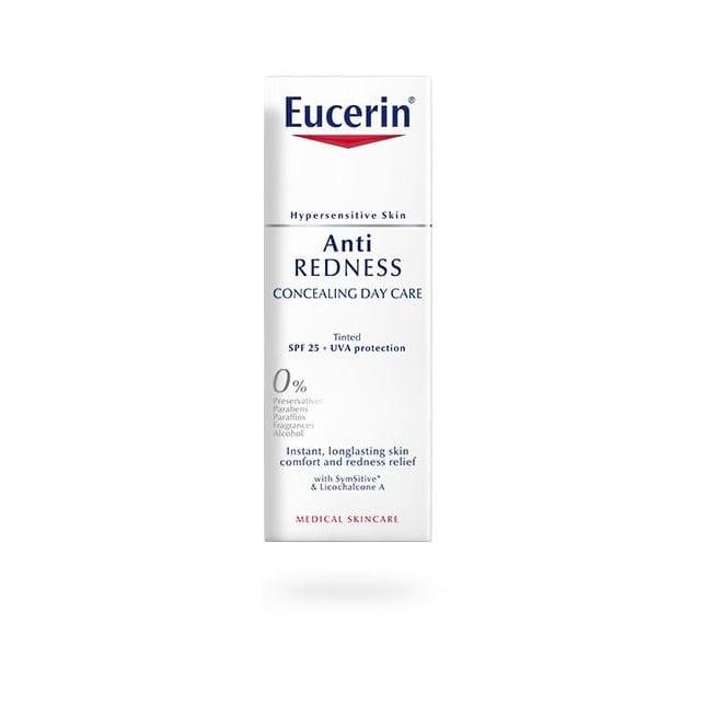 Eucerin AntiREDNESS Concealing Day Care SPF 25: Voidemainen koostumus