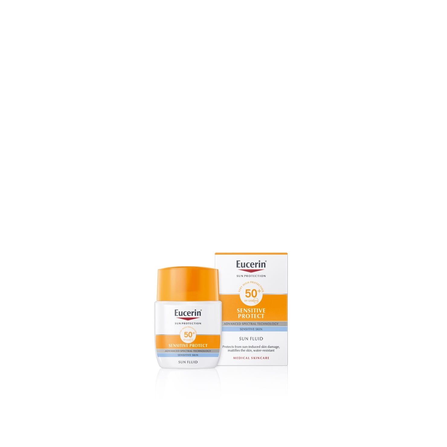 Eucerin Sun Fluid Sensitive Protect SPF50+