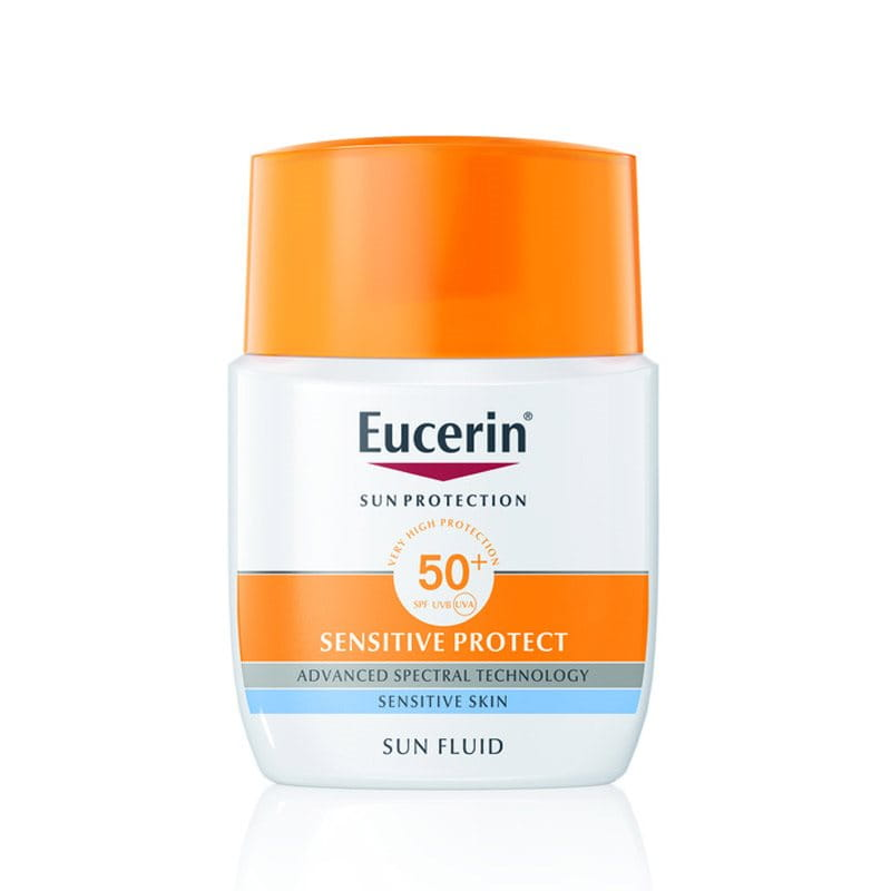 Eucerin Fluid za zaštitu osetljive kože od sunca SPF 50+