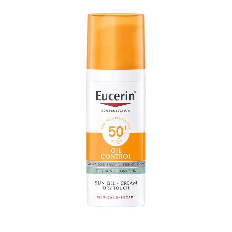 Eucerin Oil control za zaštitu masne kože od sunca SPF 50+