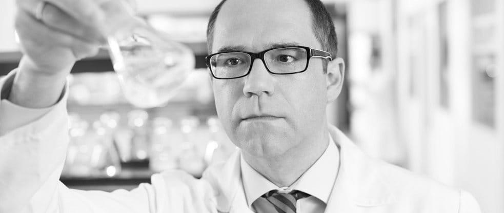 Dr. Rainer Wolber, Hoofd Productontwikkeling, DermoCosmetica bij Eucerin