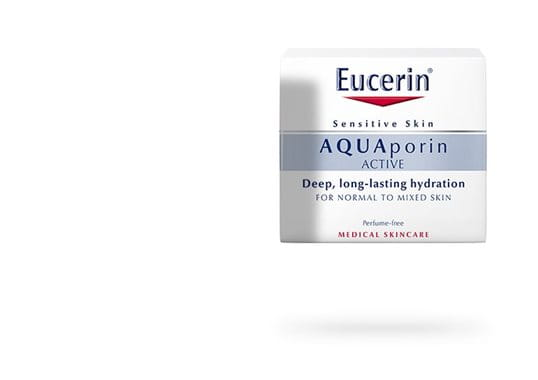 Eucerin AQUAporin ACTIVE vlažilna nega za normalno do mešano kožo - packshot