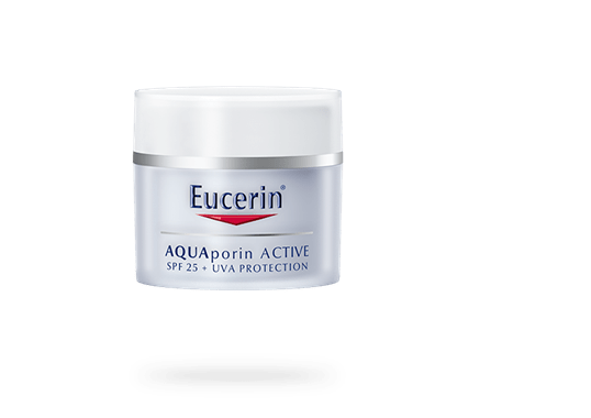 ucerin AQUAporin ACTIVE with SPF 25 and UVA protection for all skin types