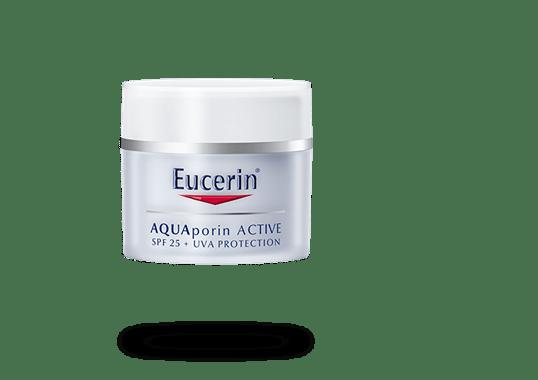 Eucerin AQUAporin ACTIVE vlažilna nega z UV-zaščito za vse tipe kože