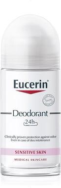 Eucerin dezodorant za občutljivo kožo 24 h v roll-onu