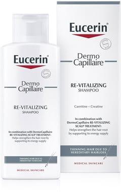 Eucerin DermoCapillaire Re-Vitalising šampon za lase, ki se redčijo