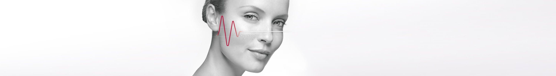 Vrouw met hypergevoelige huid