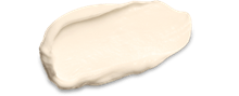 Cream texture of Eucerin Q10 ACTIVE Day Cream for dry skin