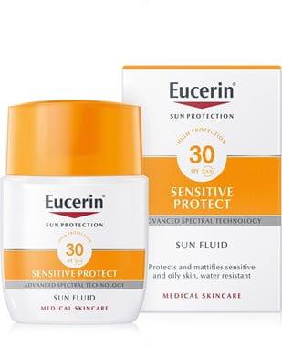 Isprobajte Eucerin Matirajući fluid za lice za zaštitu od sunca SPF 30
