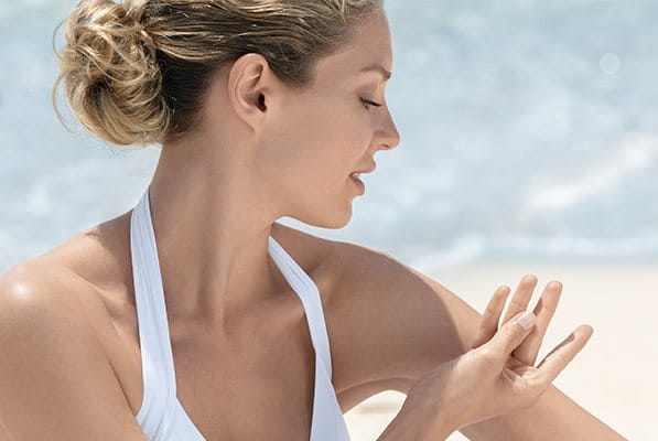 Dry touch sunscreen from Eucerin