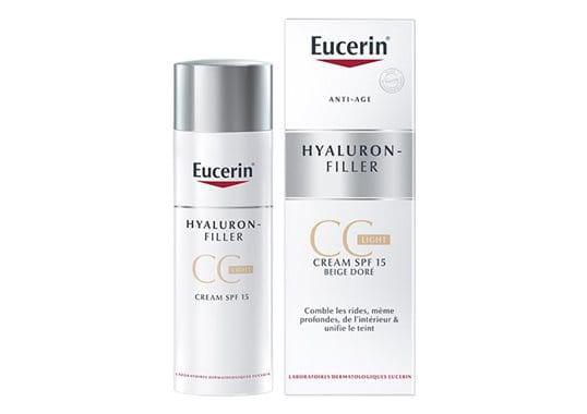 CC Crème Hyaluron-Filler  LIGHT (pour teints clairs)