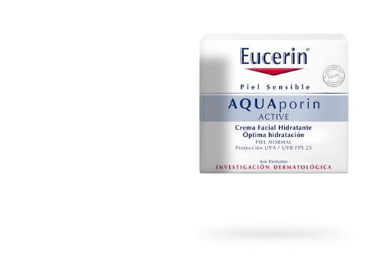 Eucerin AQUAporin ACTIVE con FPS 25 y protección UVA para todo tipo de piel