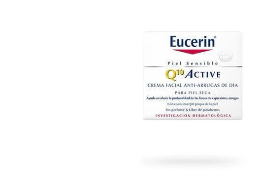 Eucerin Q10 ACTIVE Crema Facial Antiarrugas de Día para piel seca