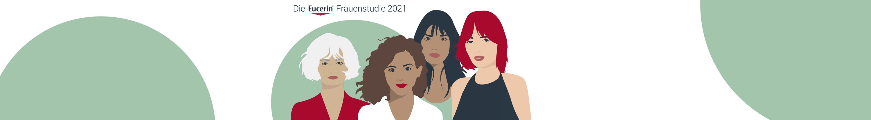 Illustration von Frauen zur Eucerin Frauenstudie 2021