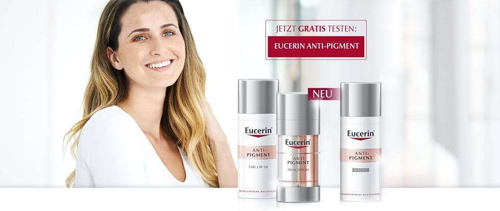 Jetzt gratis testen: Eucerin Anti-Pigment