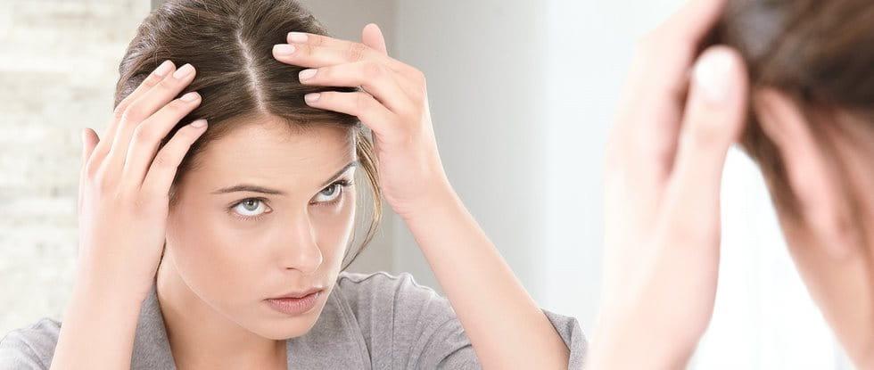 Neurodermitis auf der Kopfhaut