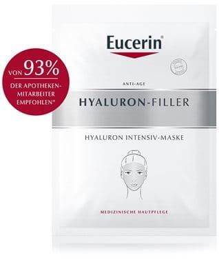 Anti-Age Tuchmaske von Eucerin: Einzel-Anwendung