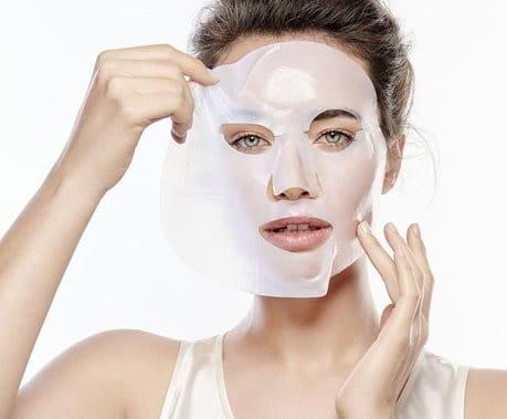 Hyaluron Filler Intensiv Maske Anwendung