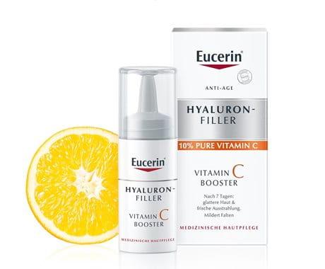 Hautpflege mit Vitamin C von Eucerin