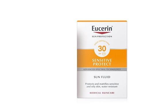Eucerin Sun Fluid para piel facial sensible