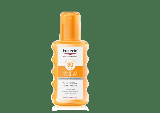 Protector solar en spray FPS 30 de Eucerin