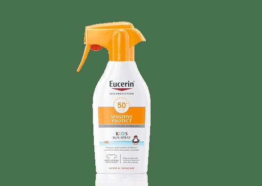 Protector solar de Eucerin para niños