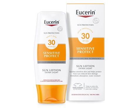 Eucerin Sensitive Protect Sun Lotion Extra Light SPF30
