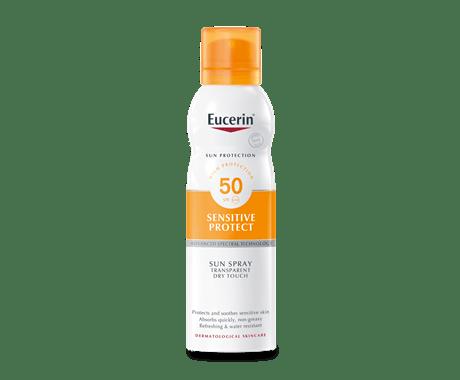 Eucerin sun spray for blemish-prone skin