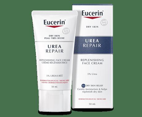Eucerin Replenishing Face Cream 5% Urea for dry to very skin