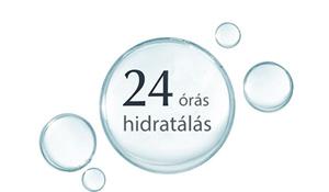24 órás hidratálás
