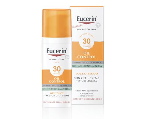 Eucerin Sun Gel-Creme Oil Control Tocco Secco SPF30