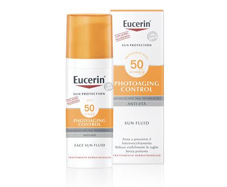 Eucerin Sun Fluid Anti-Età FP 50