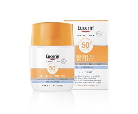 Eucerin Sun Fluid Opacizzante FP 50+