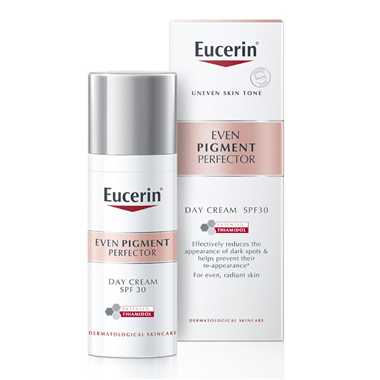 Even Pigment Perfector Day Cream Thiamidol Middle East Eucerin Duo