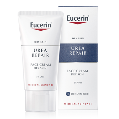 Eucerin Smoothing Face Cream 5% Urea