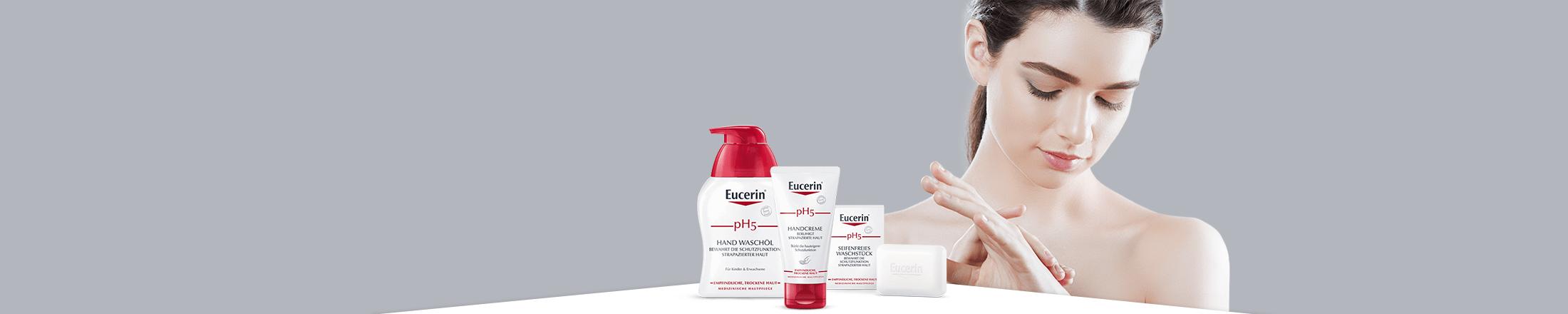Pranje i nega ruku sa Eucerin pH5 preparatima