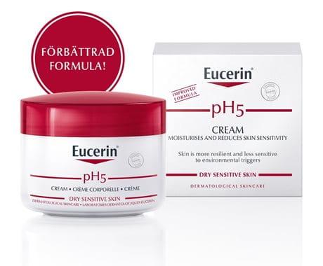 Eucerin pH5 Cream - förbättrad formula
