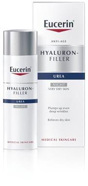Eucerin Hyaluron-Filler Urea nočna krema proti gubam