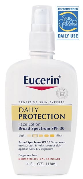 eucerin face lotion