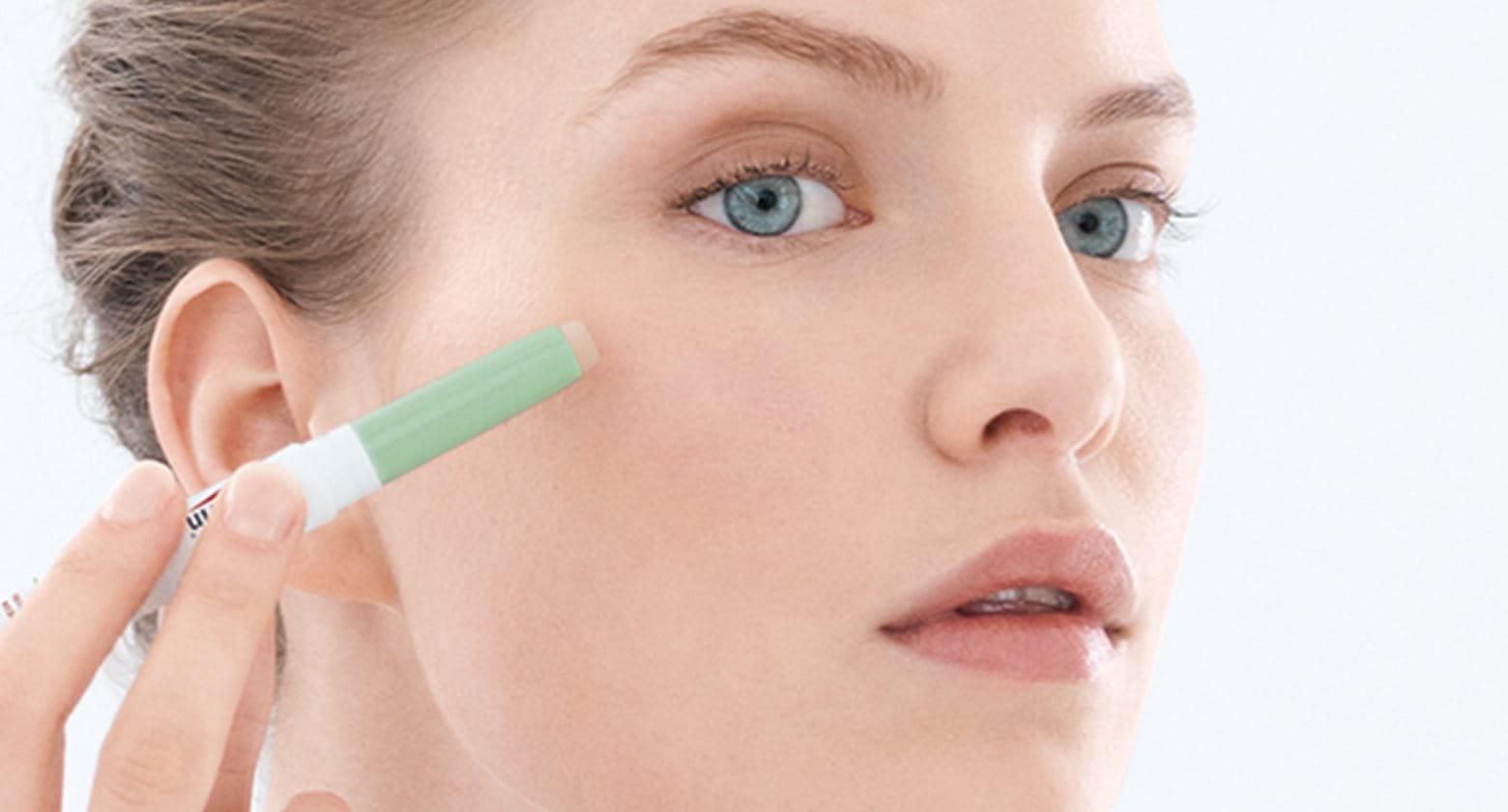 Make-up voor de acnegevoelige huid